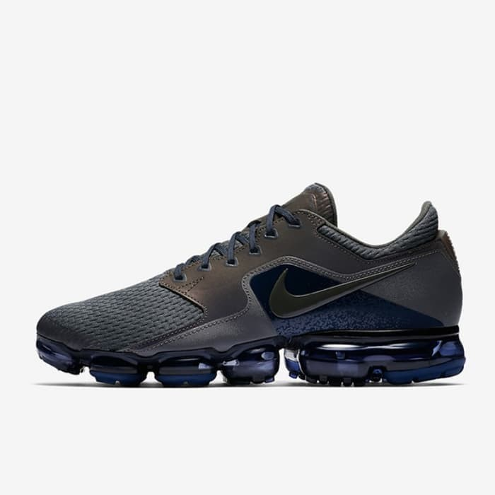 Sepatu Sneakers Nike Air Vapormax R Midnight Fog Original AJ4469-002 292347044