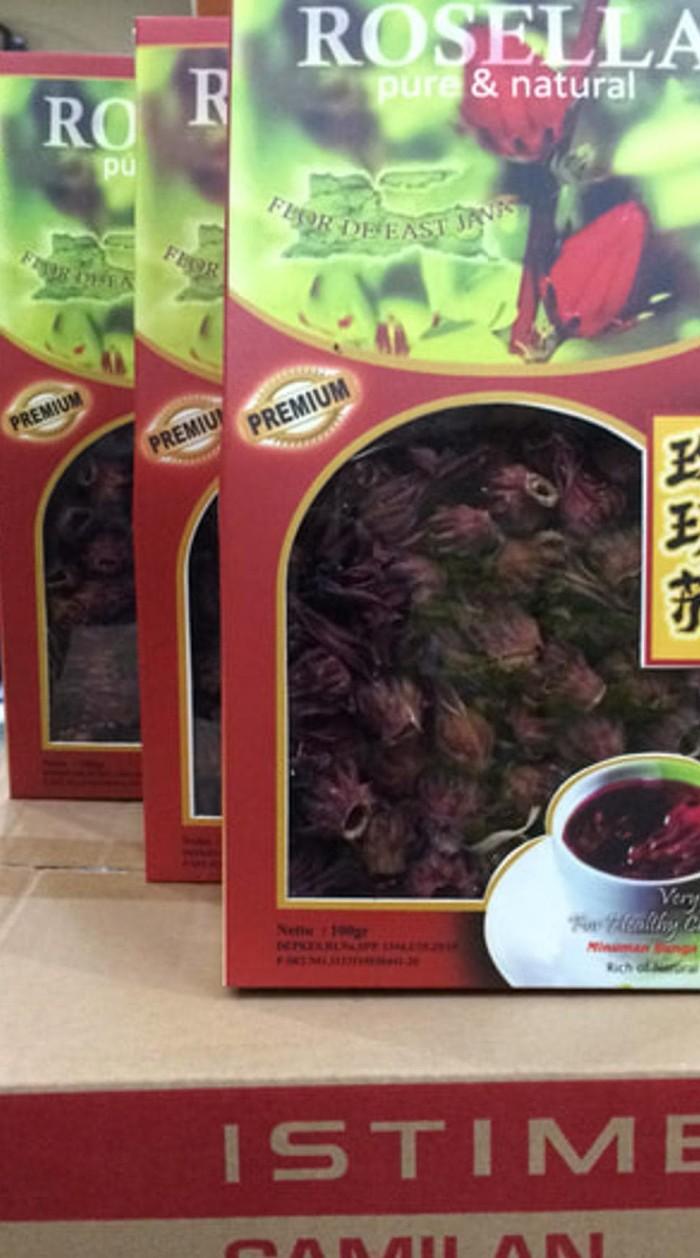Jual Teh Merah Bunga Rosella Premium 100 Gr Daya Tahan Tubuh Mencegah Kota Surabaya Fitri Ani54