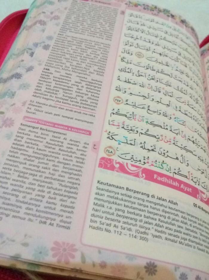 Jual Al Quran Rainbow Fatimah Zipper Wanita Pelangi Free Tasbih Cantik Kota Surabaya Lisa Pujianti Tokopedia