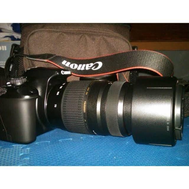 Jual Original Promo Kamera Canon 1100d Lensa Tamron Bekas Stock
