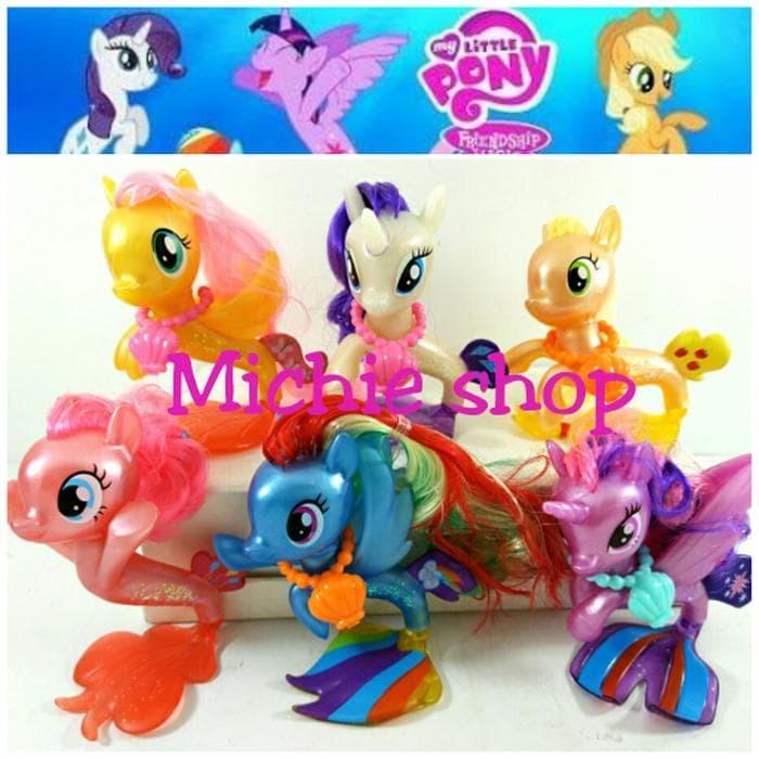 Jual Figure My Little Pony Mermaid Pony Duyung Pony Tales Jakarta Barat Abigail Chavali88 Tokopedia