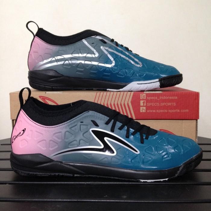 Jual Sepatu Futsal Specs Swervo Inertia In Dark Emerald Pink