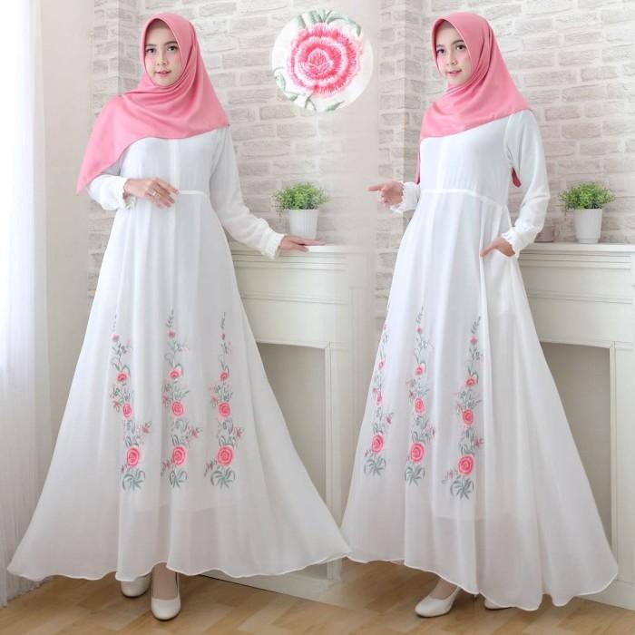 392f3ae8f56 Jual Baju Gamis Putih Al Fatih Shop Tokopedia