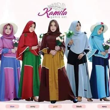 Jual Kamila Dress Ori Nazumi Gamis Set Jilbab Kab Kudus Cahayafashionshop Tokopedia