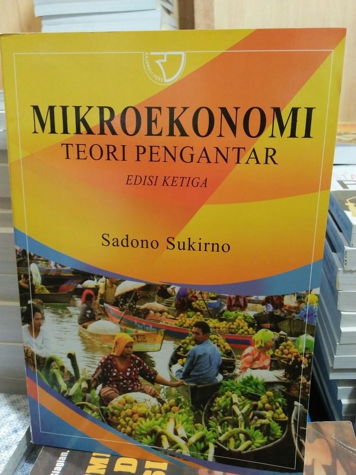 Ebook Pengantar Ekonomi Mikro Sadono Sukirno