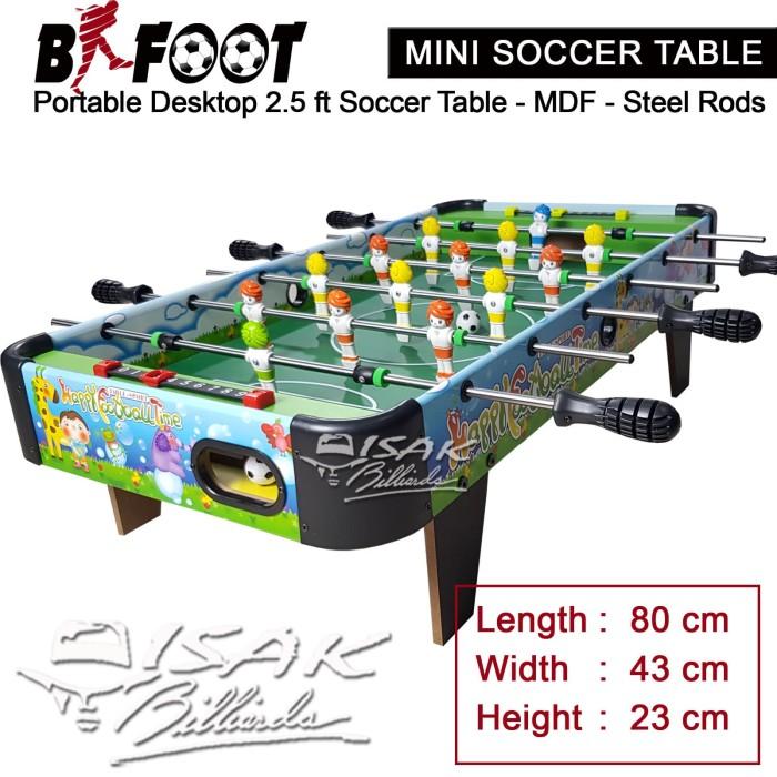 harga Soccer table mini desktop b-foot 1002 meja foosball sepak bola hadiah Tokopedia.com