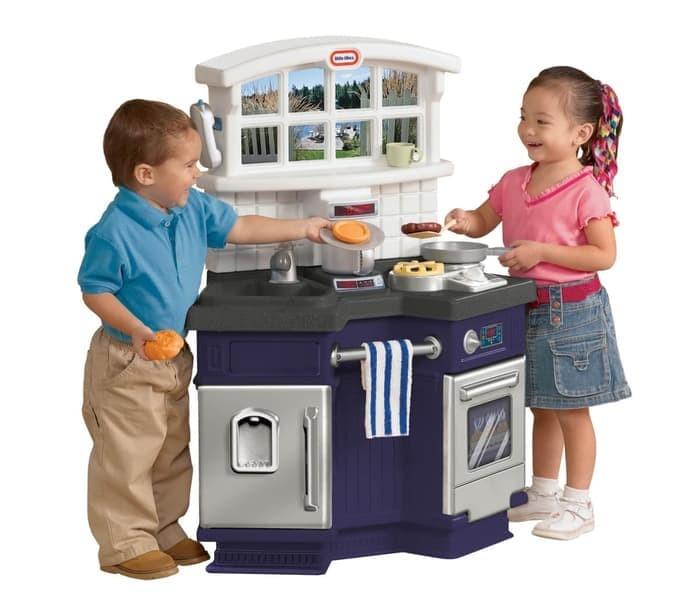 Jual Mainan Edukasi Dapur Anak Side By Side Kitchen Little Tikes Jakarta Barat Signal Gede Tokopedia
