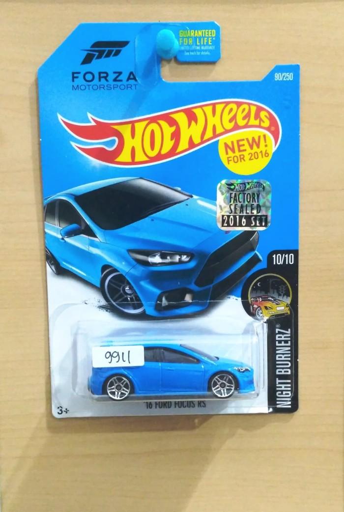 Blue Ford Focus >> Jual Hot Wheels 16 Ford Focus Rs Blue Forza Factory Sealed 2016 90 250 Kab Tangerang Gcf Tokopedia