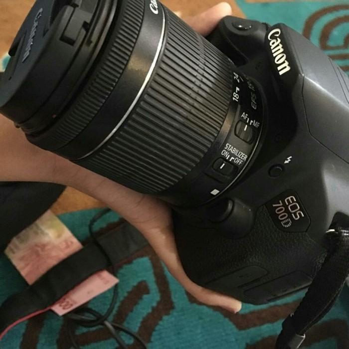 Jual Kamera Canon 700d Like New Sc Baru 12rb Fullset Kota Bandung Dengbray Tokopedia