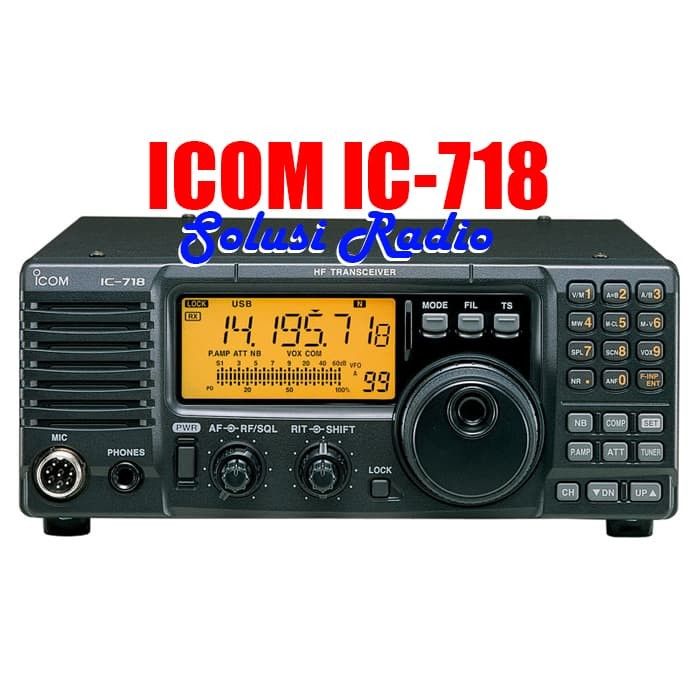 Jual Radio HF SSB Icom IC 718 IC-718 Ori Murah Garansi - Kab  Bogor - toko  solusi radio   Tokopedia