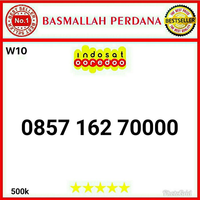 Nomor Cantik IM3 Seri Kwartet 0000 0857 162 70000 W10