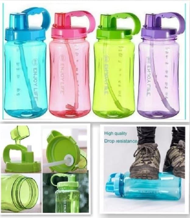 Foto Produk Botol Minum ENJOY LIFE - 2 Liter - Ungu dari Blooming_deal