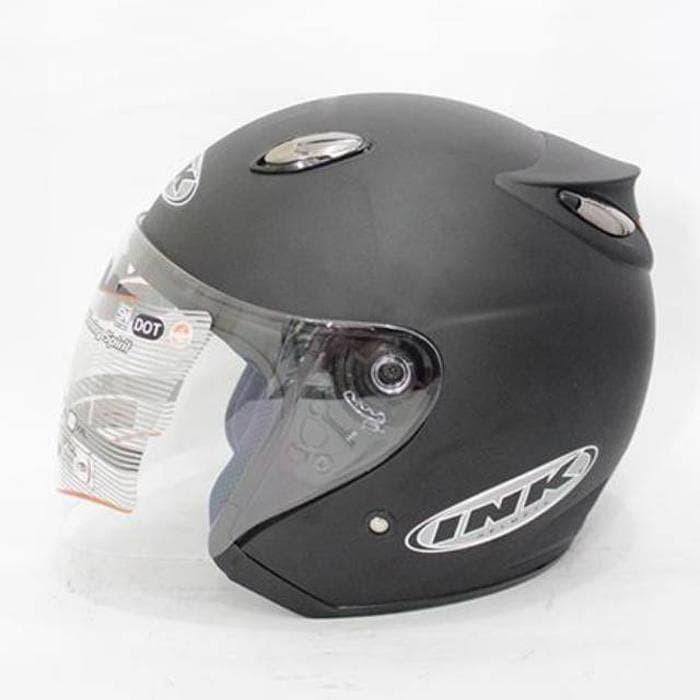 ... harga Unik helm ink centro free stiker ~ hitam doff diskon Tokopedia.com