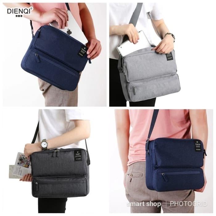Korean Grand Voyaging Bag Ver 2   Travel Organizer   Tas Selempang - abu  abu tua 98bb20d071