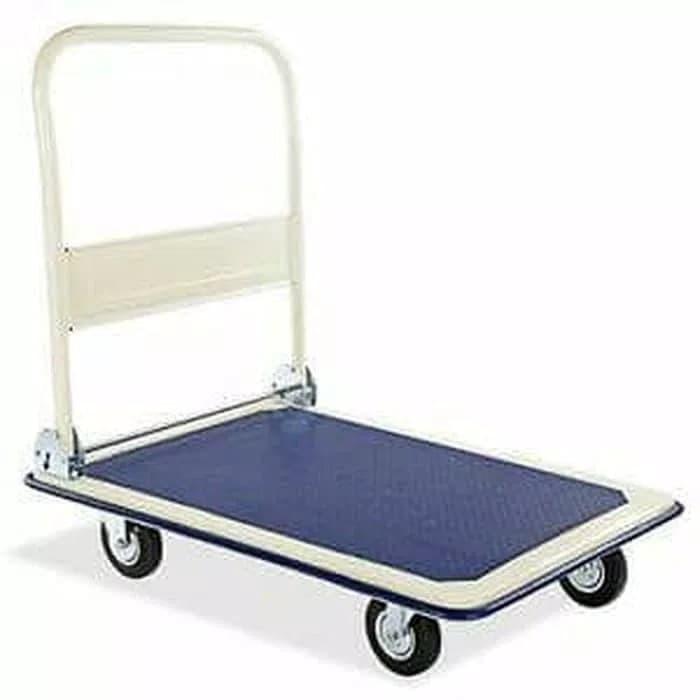 harga 150 kg hand truck / handtruck / troli / trolley /dorongan lipat barang Tokopedia.com