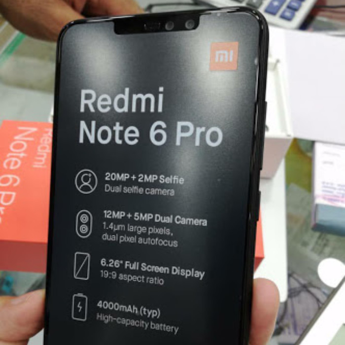 Jual Hp Xiaomi Redmi Note 6 Pro 332gb Garansi Distri 1 Tahun Hitam Kota Surabaya Delio Store Tokopedia