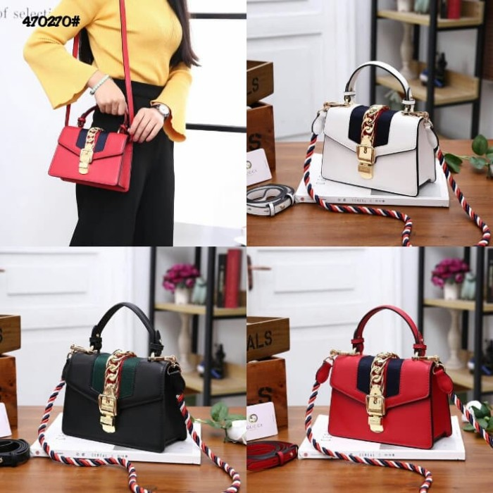 e6b9ced48 Jual Gucci Sylvie Leather Mini Bag 270 HIGH PREMIUM AAA - Kota Batam ...