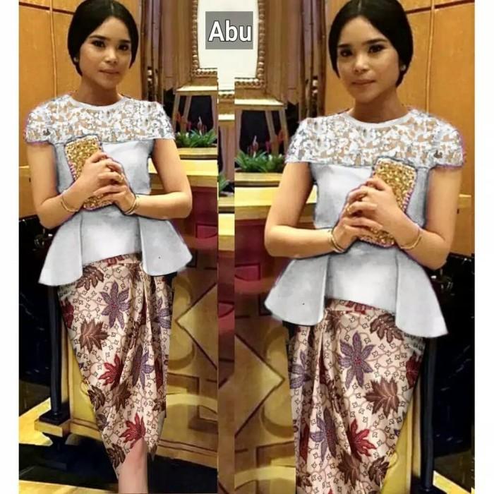 Jual Set Kebaya Modern Kebaya Wisuda Baju Pesta Resmi Kebaya Remaja Murah Jakarta Utara Fika Olshop Store Tokopedia