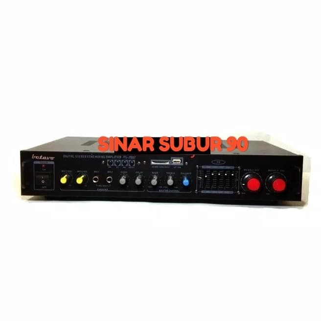 harga Ampli mixer betavo fs-7007 amplifier digital stereo echo mixing Tokopedia.com