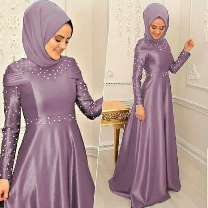 Spesial Dress Wanita K8e4 Baju Gamis Muslim Wanita Modern Pakaian  Berkualitas U4l7
