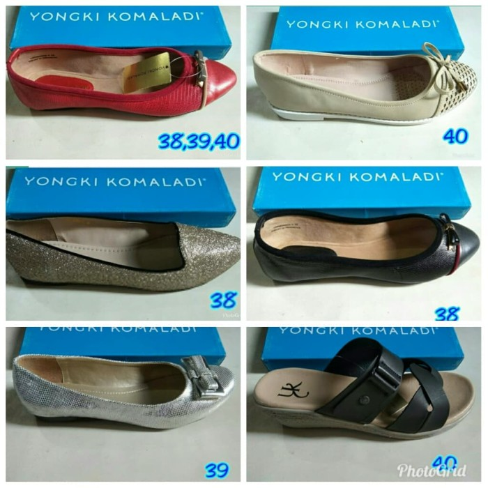 Jual Sepatu Yongki Komaladi Wanita Ori Brand Matahari Kab