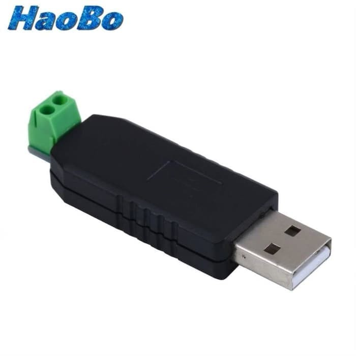 Color:Black USB to RS485 USB-485 Converter Adapter Support for Win7 XP Vista for Linux for Mac OS