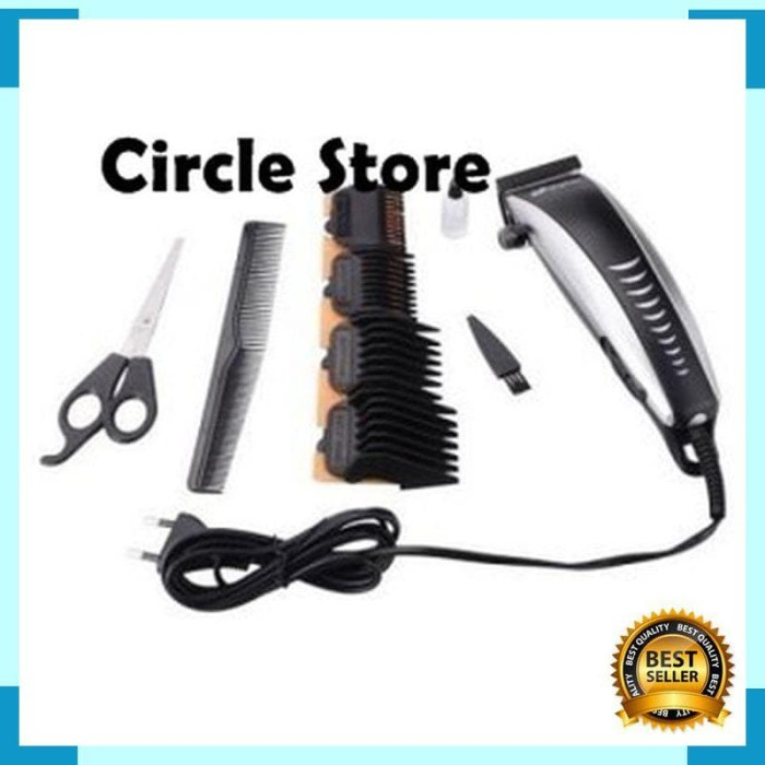 Jual Alat Cukur Rambut Kabel   Jing Hao Electric Hair Clipper Set ... 2d38a38d90
