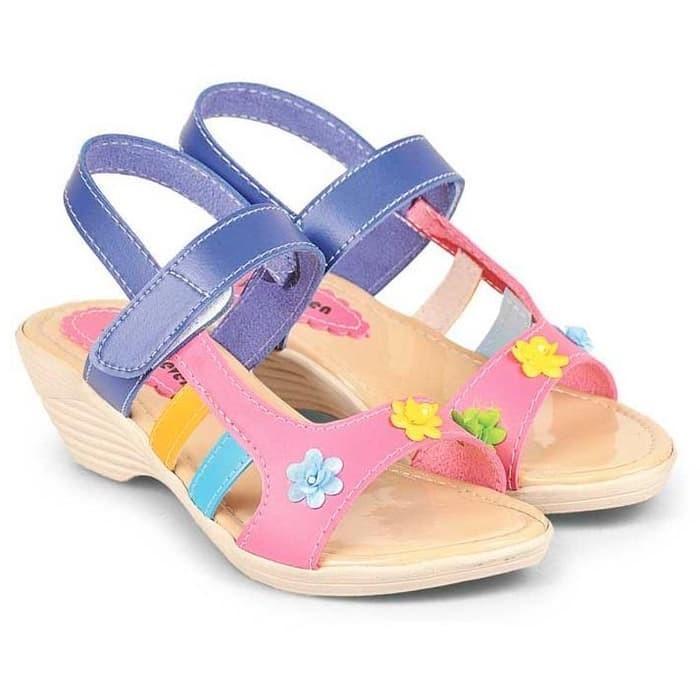Sandal Anak Perempuan pink Java Seven BAB 239 murah asli ori original