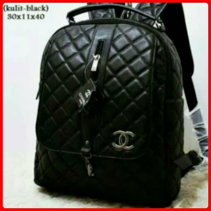 Jual Tas Wanita Channel Ransel Res Tengah Tas Import Batam Backpack ... 2c54d97953