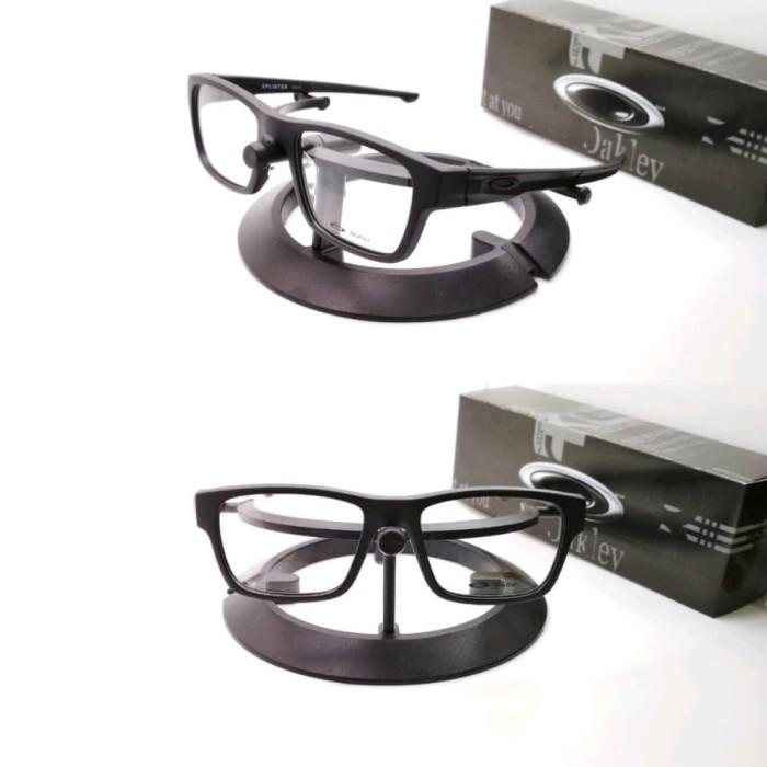 Harga Diskon Frame Kacamata Ox8077 Kacamata Oakley Splinter Hitam ... e625484843