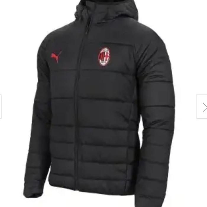 harga Jersey - ac milan black padded jacket 2018/19 Tokopedia.com