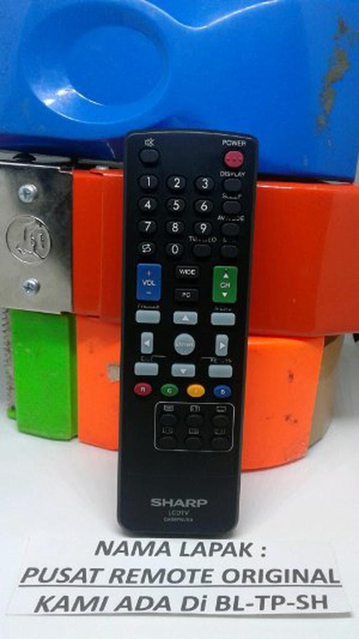Harga Remot Remote Tv Lcd Sharp Aquos Rp 35000 Led Original Asli Diskon