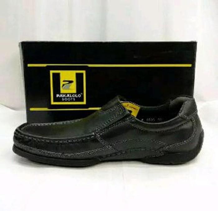 Jual sepatu kulit pria pakalolo 0538 black. original by paka Diskon ... c017d7d0a1