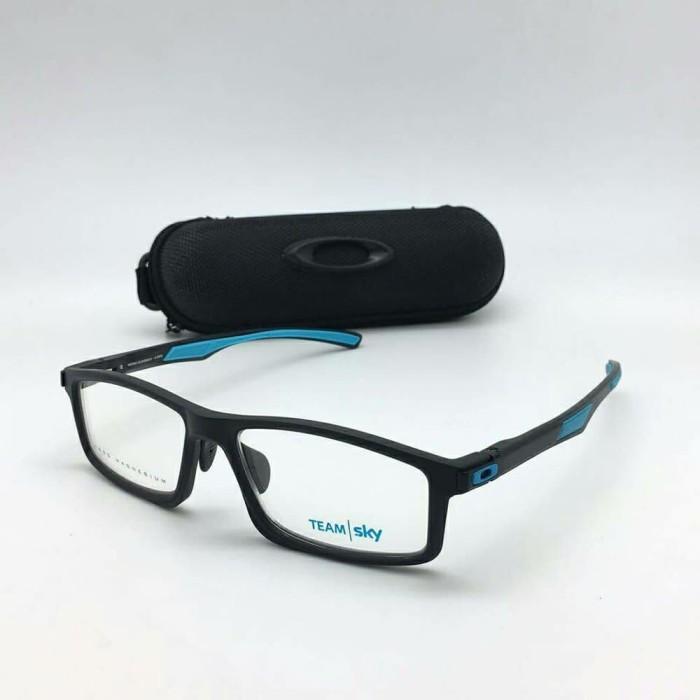 Jual frame kacamata oakley breadbox rx lite black blue Super Premium ... 800134d5d9