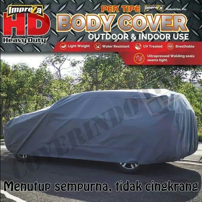 Body cover HD Suzuki Ertiga - Abu-abu Muda