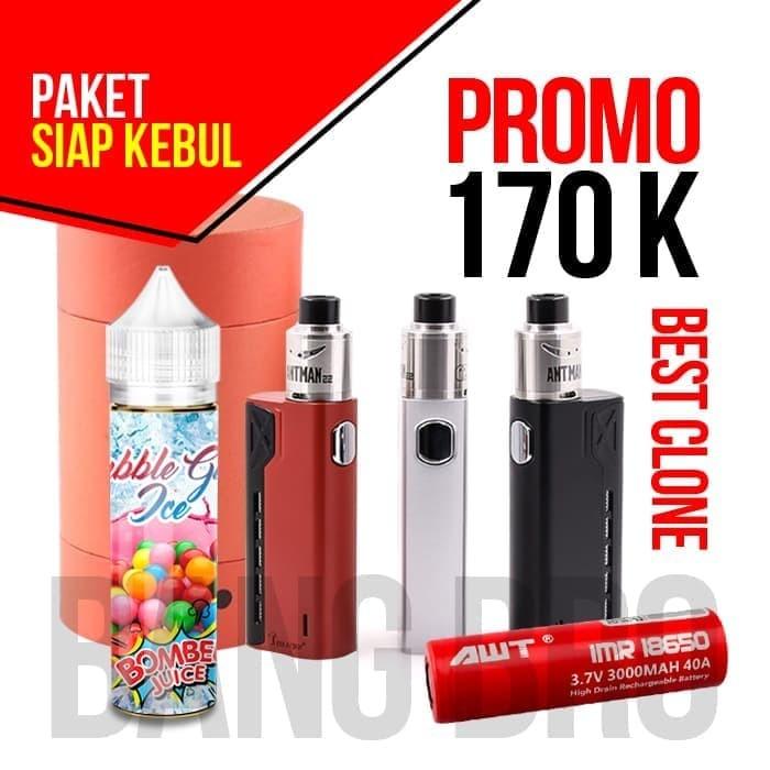Jual Vape Vaporizer Tesla Terminator Siap Kebul Awt Free Liquid Premium 60 Jakarta Pusat Radja Vape Tokopedia
