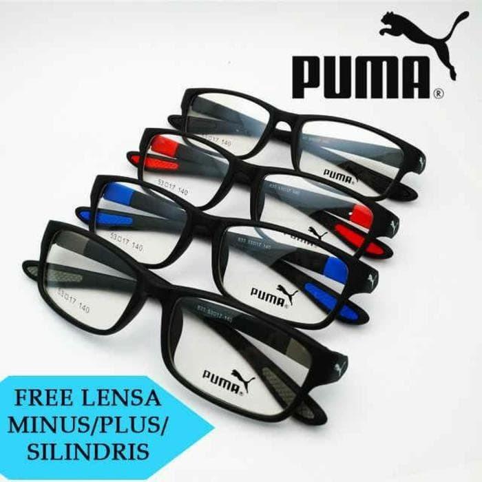 ... Free Lensa Minus Frame Kacamata Baca Pria Wanita Wolf 10 Harga Rp  175.500. Source · Frame kacamata baca minus plus Puma Lentur 6af981ef2f