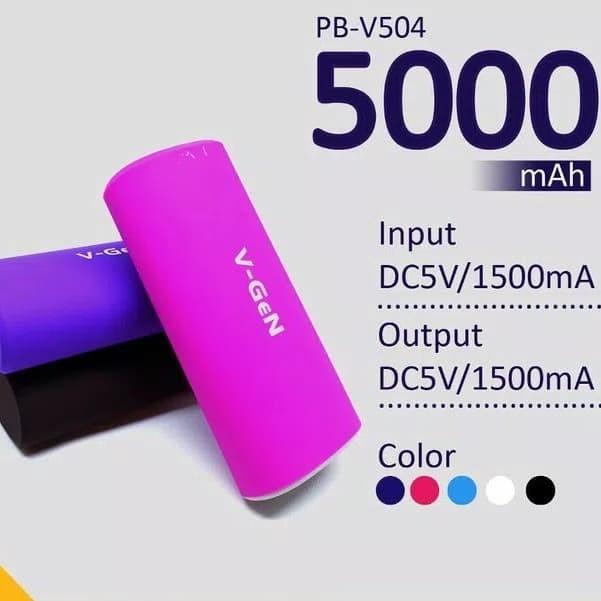 Powerbank Vgen PB-V504 5000 mAh