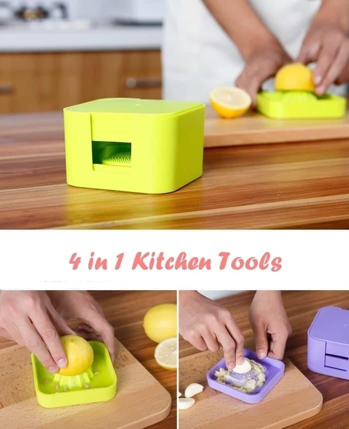 Jual produk barang unik alat rumah tangga 4 in 1 Kitchen ...