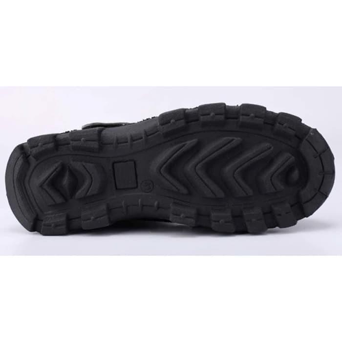 Jual Sepatu Boot Safety Shoes Pria Cowok Cowo Laki-Laki Hitam DM 118 ... ae635ae45c