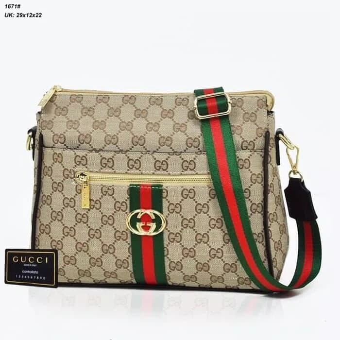 Jual tas fashion import   tas selempang branded gucci original ... 4682173f9a