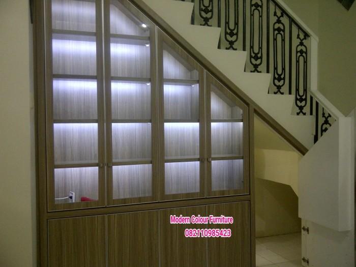 Jual Lemari Bawah Tangga Kitchen Set Kamar Set Modern Colour