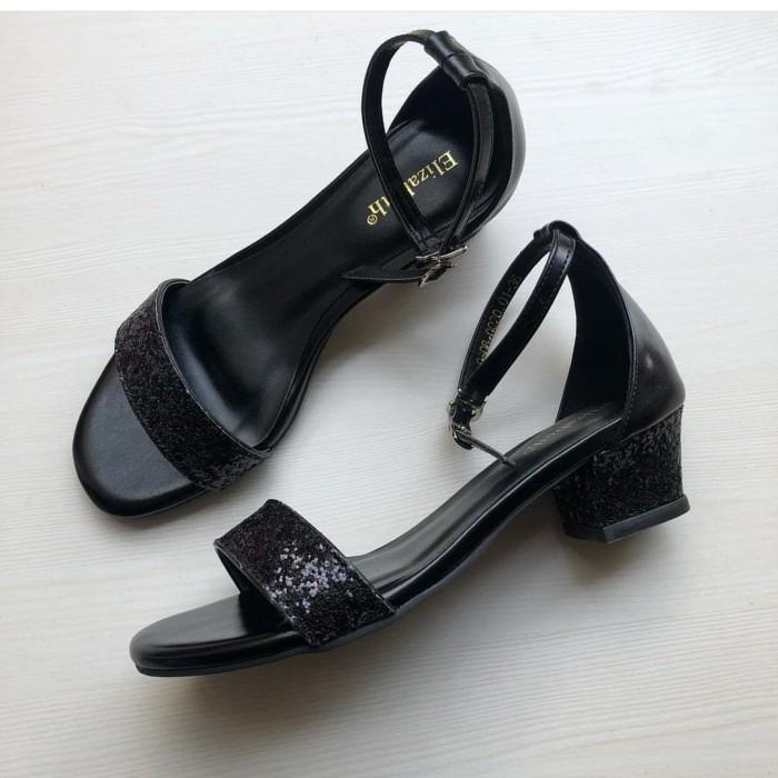 Jual Sepatu Elizabeth Hitam 37 Kota Semarang Restishoop