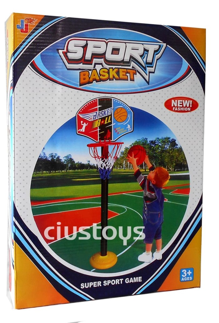 Basket ball spot set - mainan anak tiang bola basket .