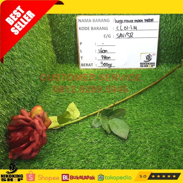 Katalog 1 Tangkai Bunga Mawar DaftarHarga.Pw