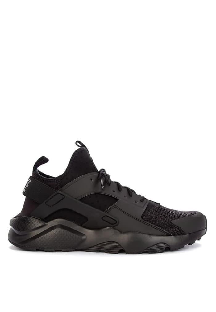1d83fecf89e8 Jual HOT SALE Original Sepatu Nike Huarache Run Ultra Triple Black ...
