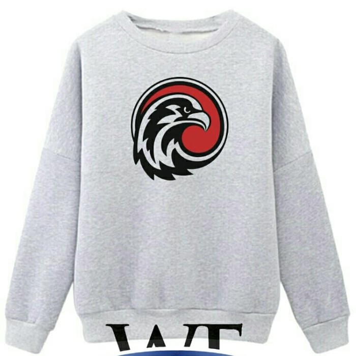 Sweater Eagle Logo Abu Misty - Wisata Fashion Shop