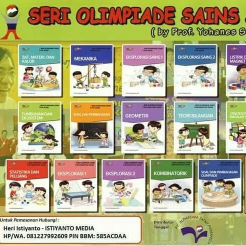 Foto Produk 8 Buku Olimpiade IPA SD dari Toko Buku Olimpiade