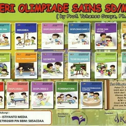 Foto Produk 9 Buku Olimpiade Matematika SD dari Toko Buku Olimpiade