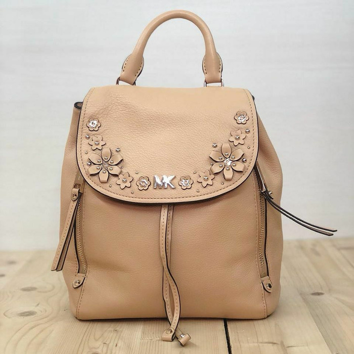 6b335c5fe882 Jual Tas Ransel Michael Kors Original / MK Evie Backpack Butternut ...